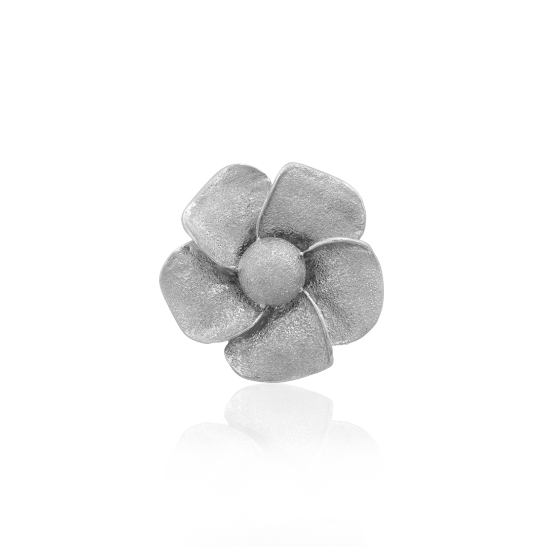 Amália Marigold Silver Pin, Alfinete Amália Malmequer