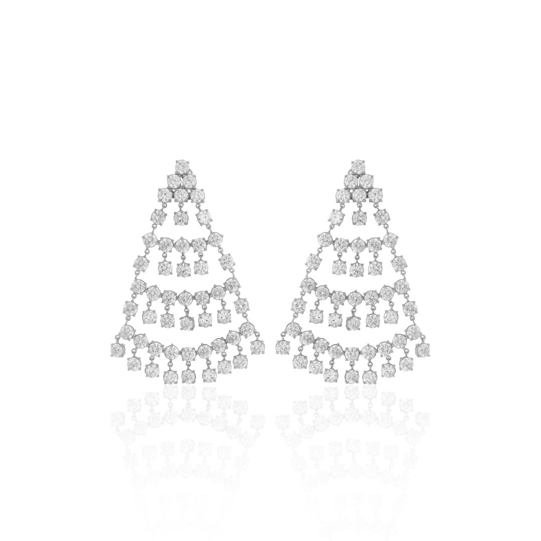 Coliseum Silver Earrings, Brincos Coliseu em Prata