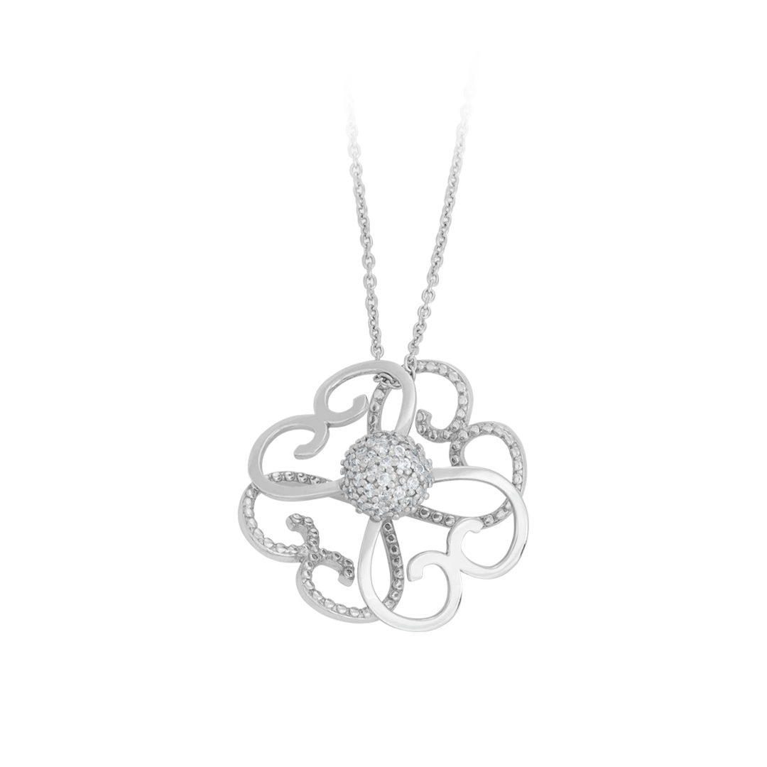 Colar Lusitano em Prata 925, 925 Silver Lusitano Necklace