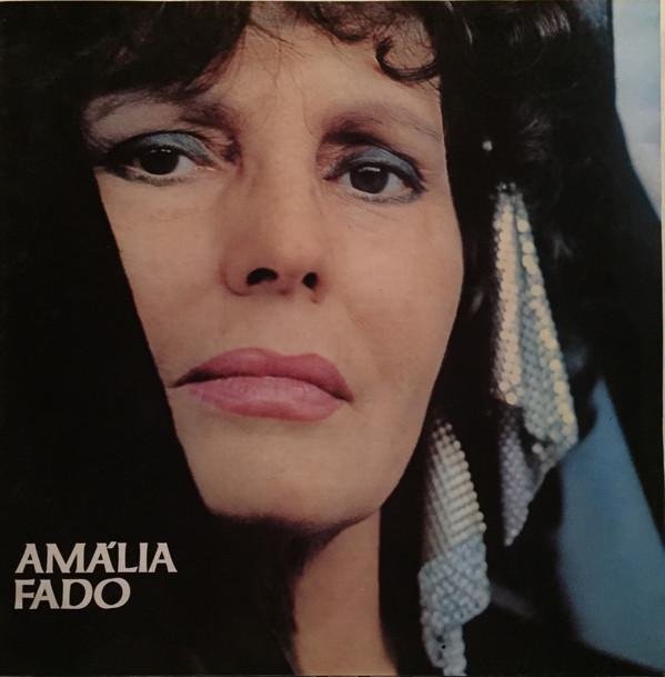 """Capa de Vinil """"Amália Fado"""" 1982"""