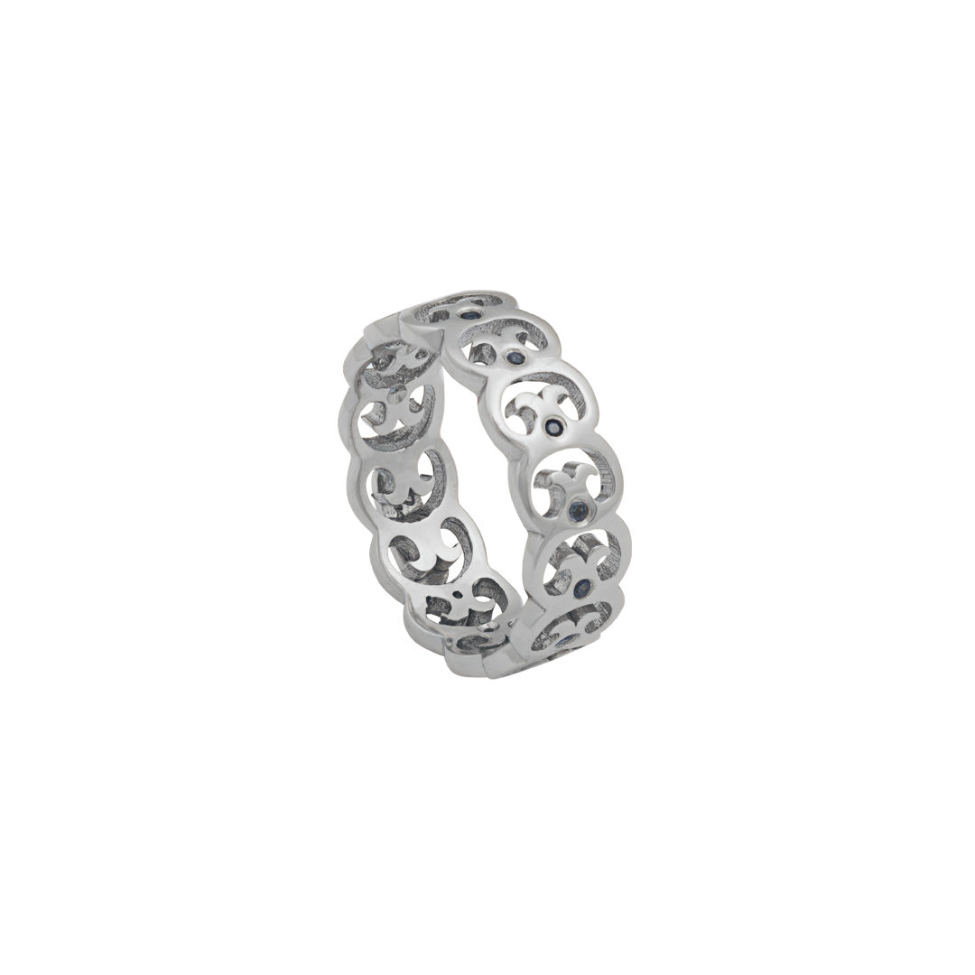 Links of Fado 925 Silver Ring, Anel Elos do Fado em Prata 925