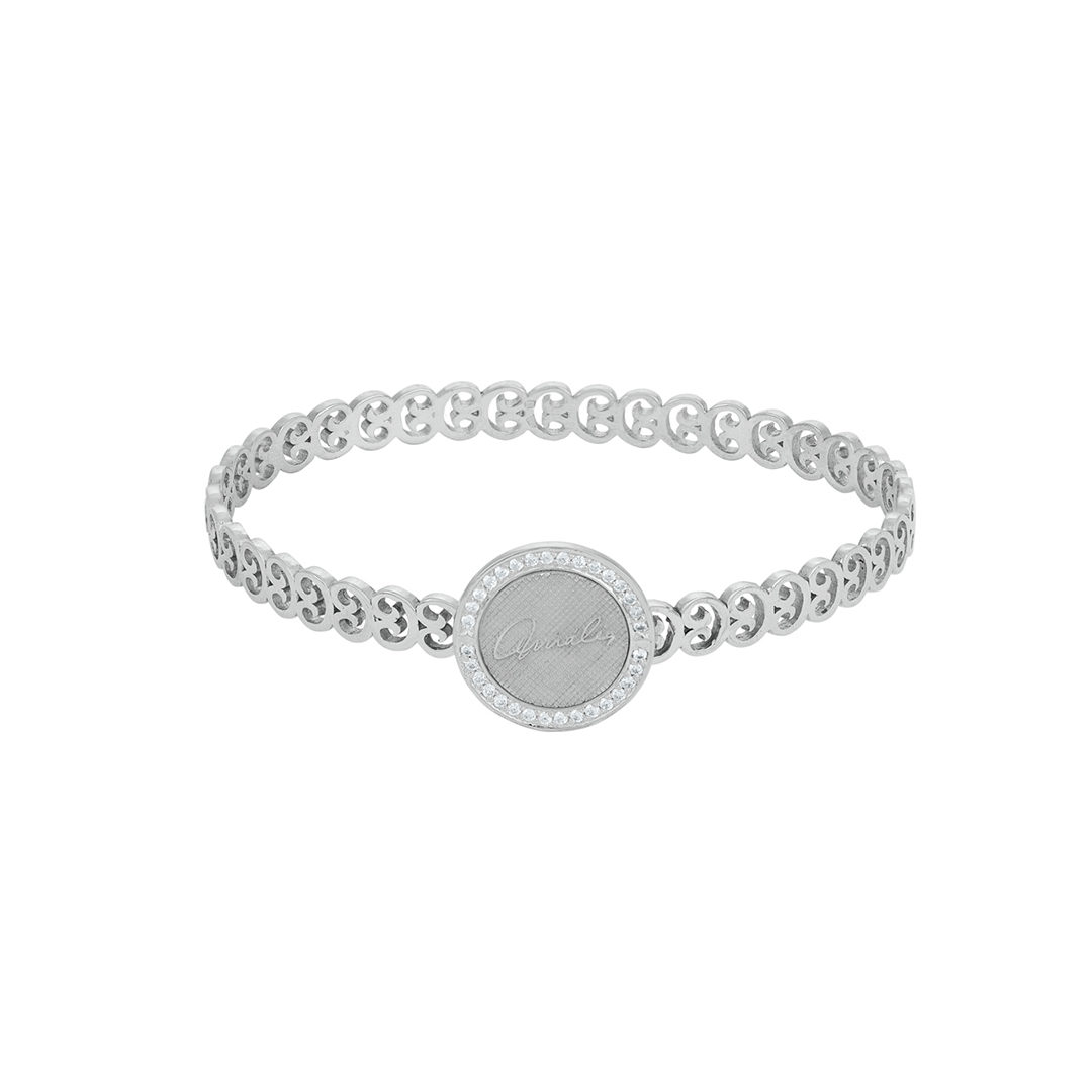 Links of Fado 925 Silver Bangle, Escrava Elos do Fado em Prata 925