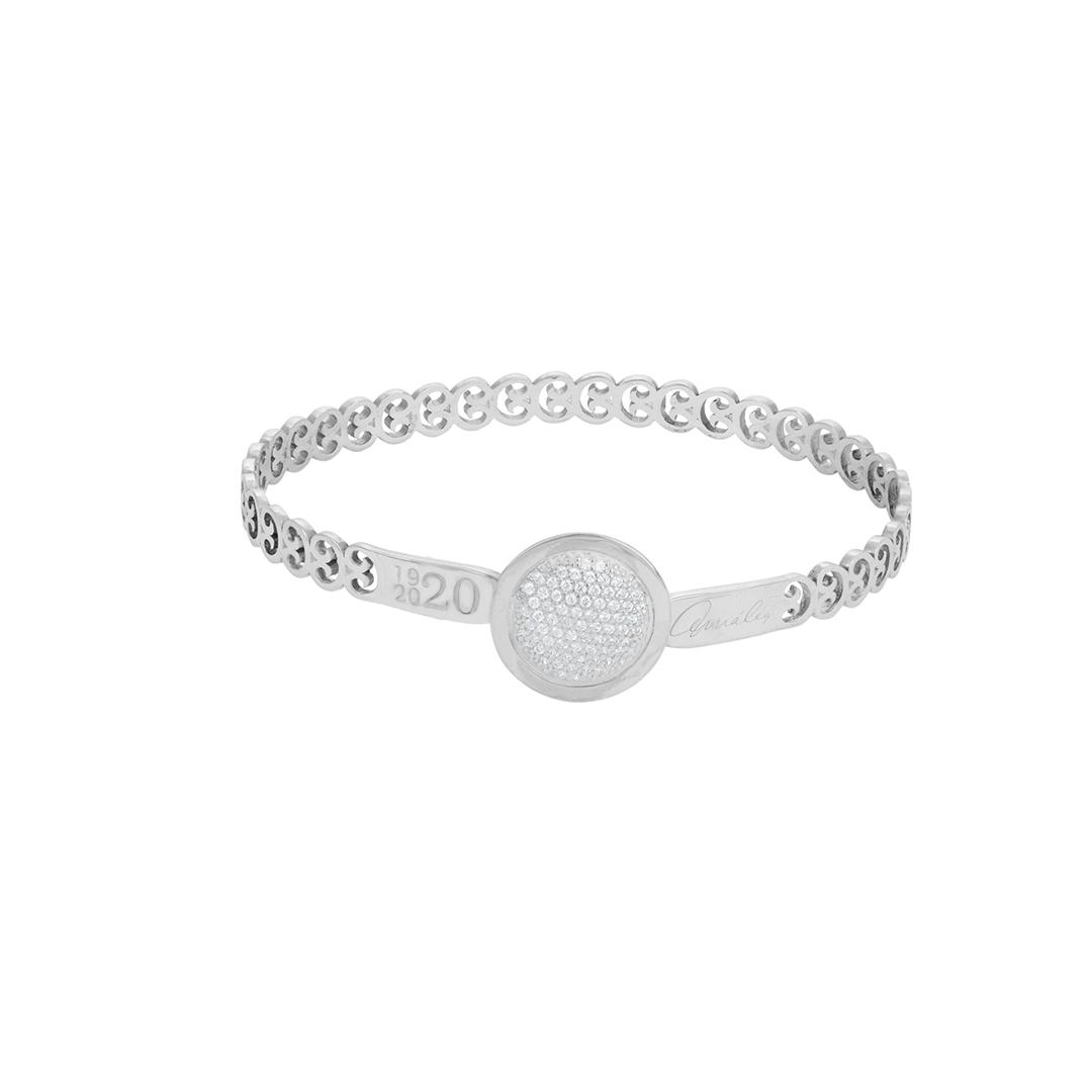Links of Fado 925 Silver Bracelet, Escrava Elos do Fado em Prata 925.