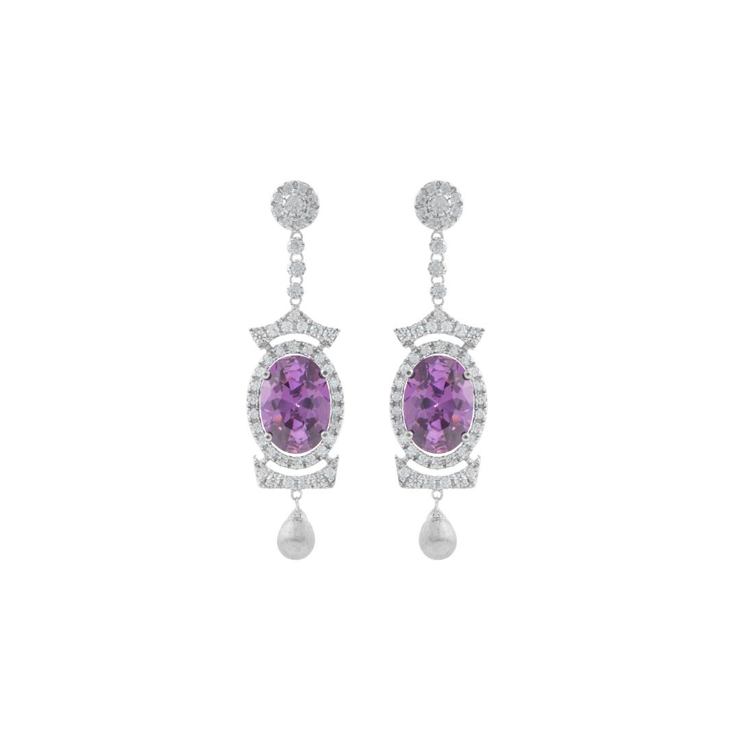 925 Silver Goddess Earrings