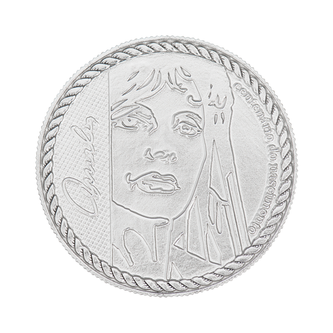 925 Silver Centenary Medallion