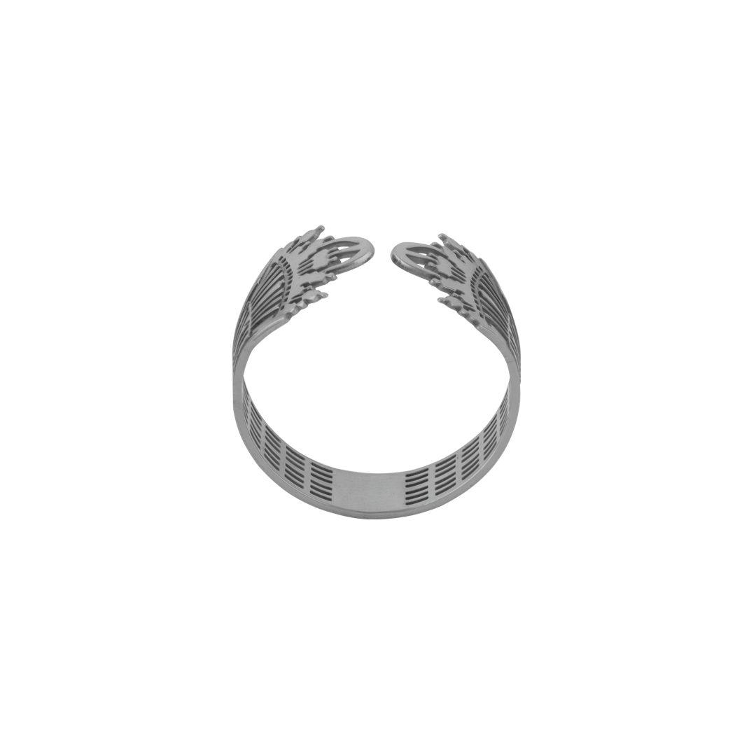 925 Silver Portuguese Guitar Ring